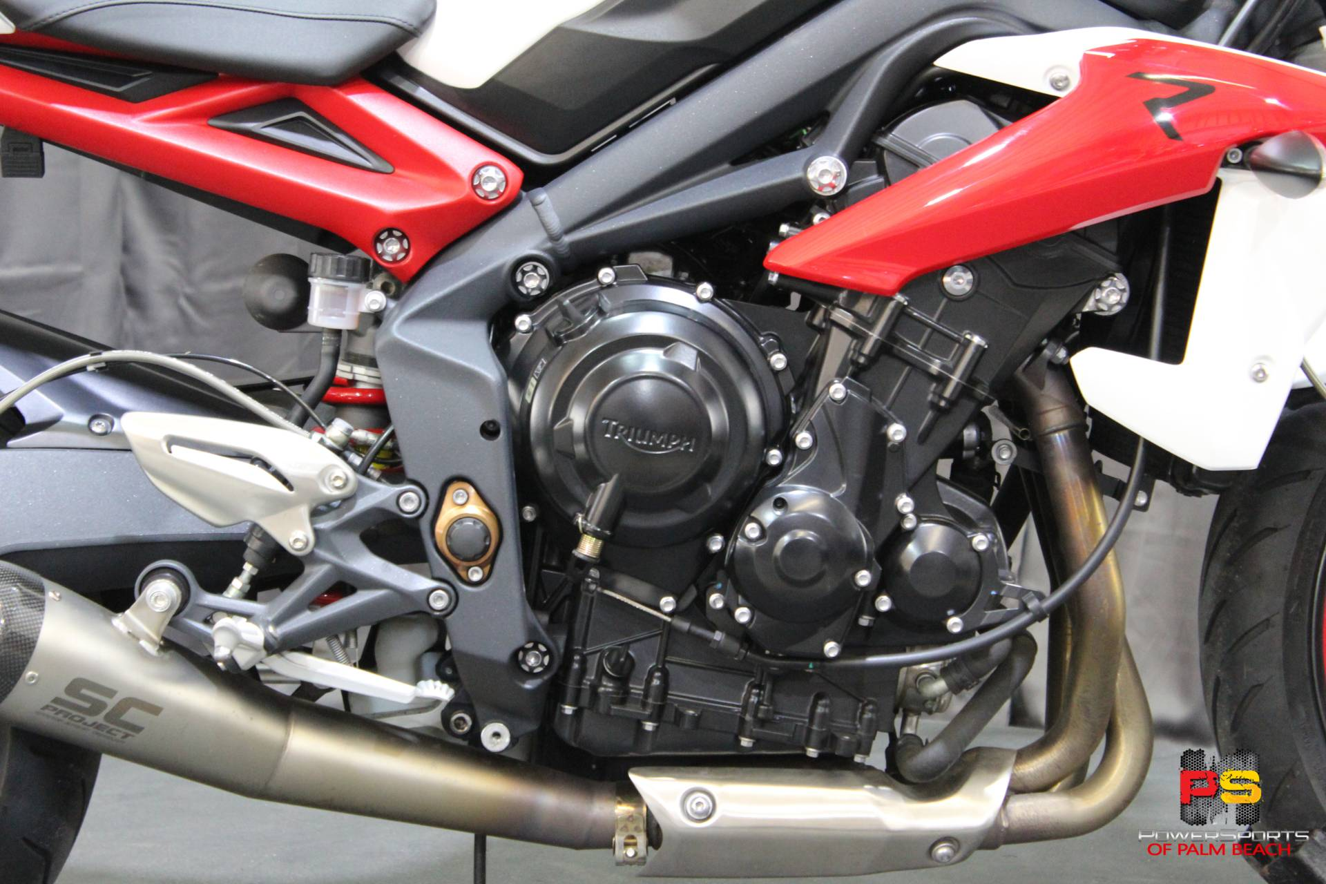 2014 Triumph Street Triple R ABS in Lake Park, Florida - Photo 4