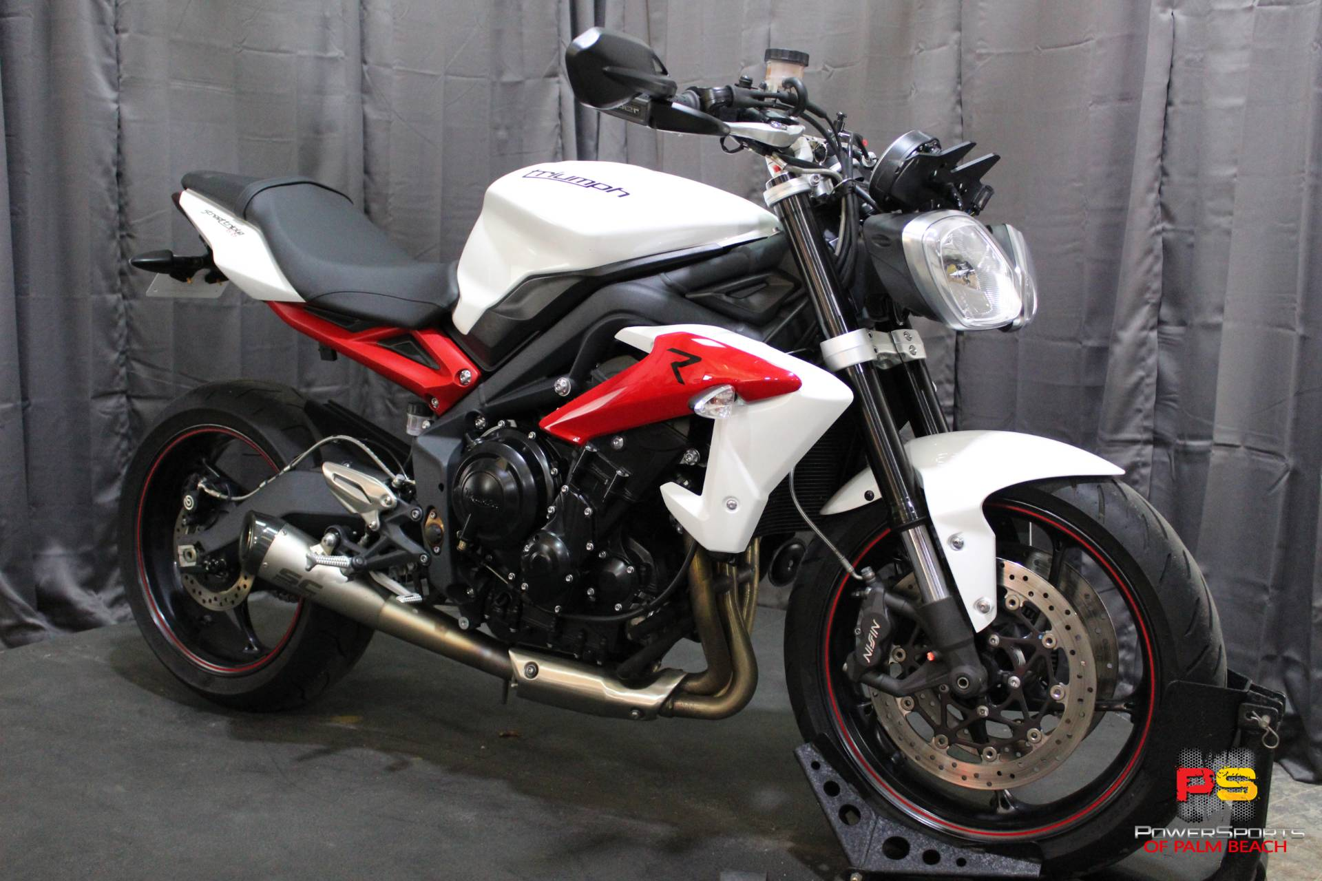 2014 Triumph Street Triple R ABS in Lake Park, Florida - Photo 8