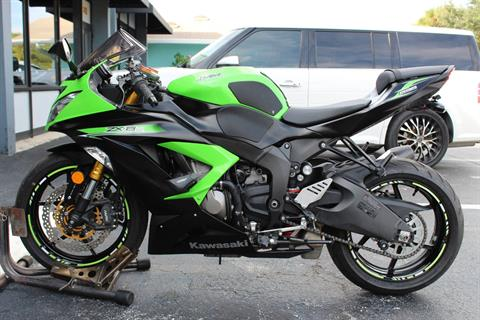 2014 Kawasaki Ninja® ZX™-6R ABS in Lake Park, Florida