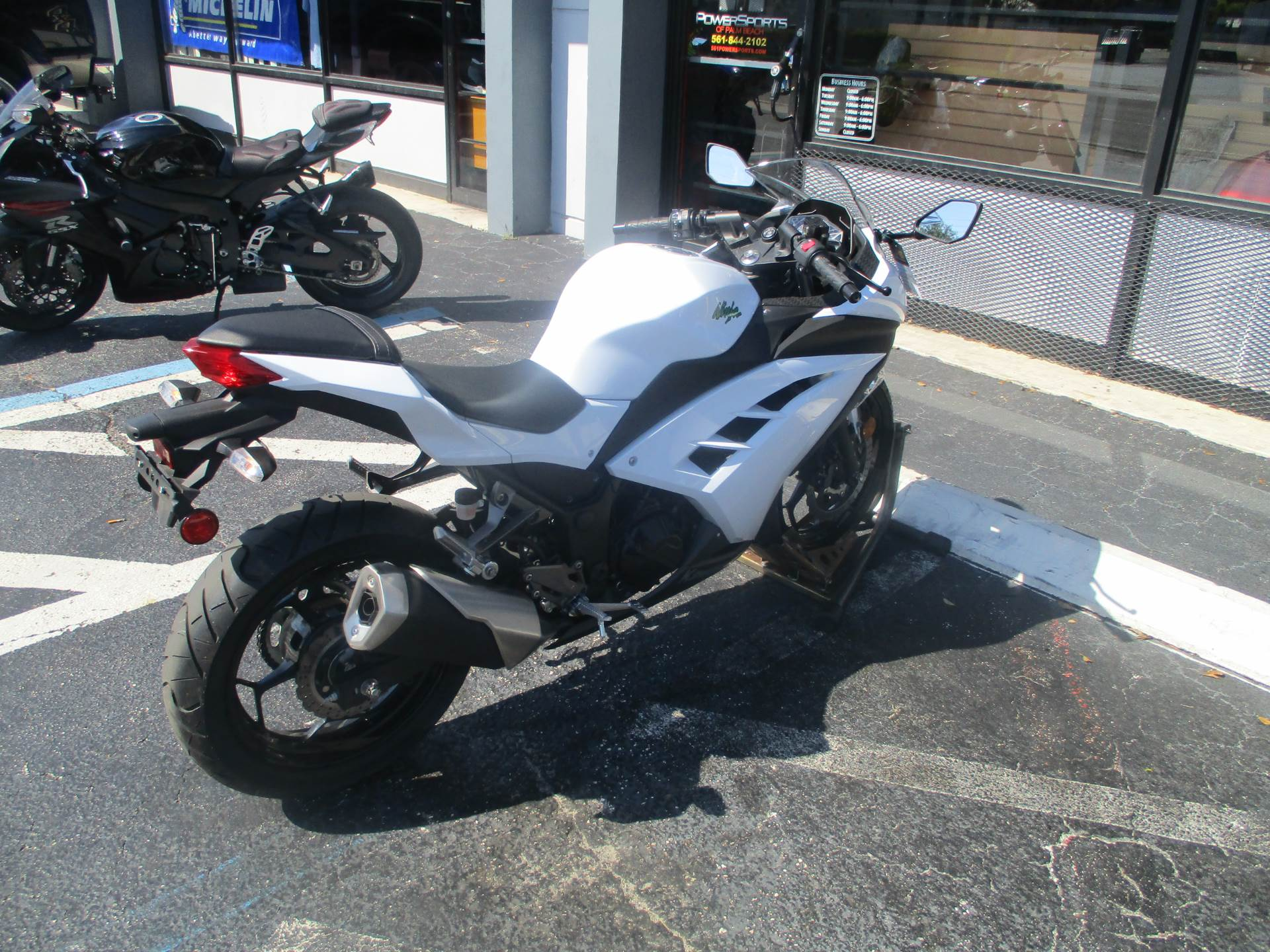 2015 Kawasaki Ninja® 300 ABS in Lake Park, Florida