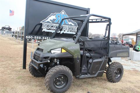 2020 Polaris Ranger 500 in Ada, Oklahoma - Photo 1