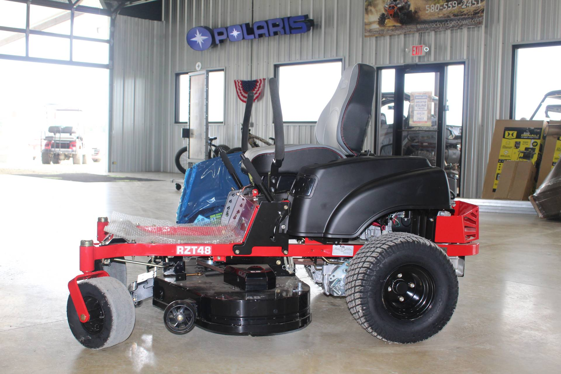2019 RedMax RZT48 Zero Turn Mowers in Ada, Oklahoma - Photo 4