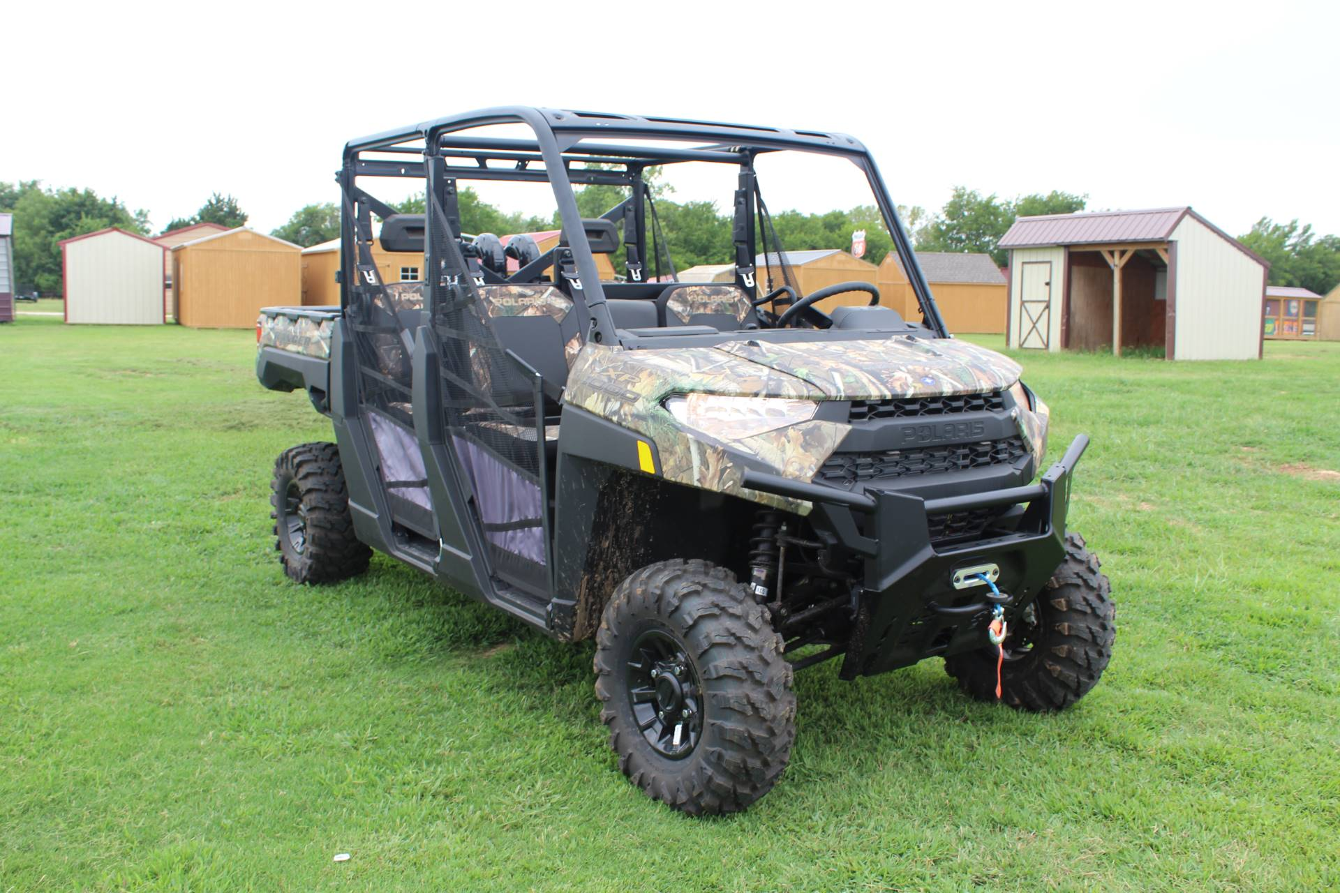 2019 Polaris Ranger Crew XP 1000 EPS Back Country Limited Edition in Ada, Oklahoma - Photo 2