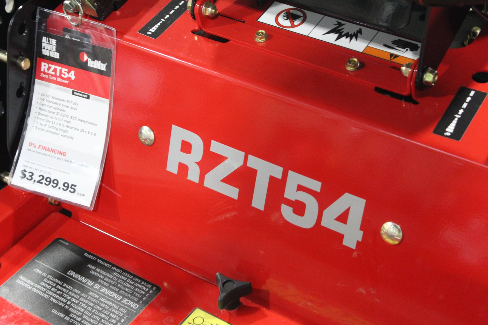 2019 RedMax RZT54 Zero Turn Mowers in Ada, Oklahoma - Photo 3