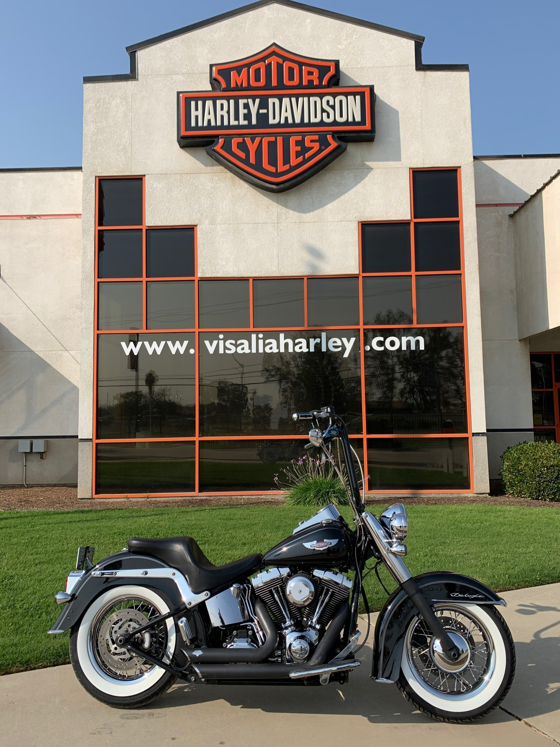 2014 Harley-Davidson Softail® Deluxe in Visalia, California - Photo 1