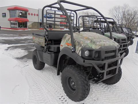 2017 Kawasaki Mule SX 4x4 XC Camo in South Haven, Michigan