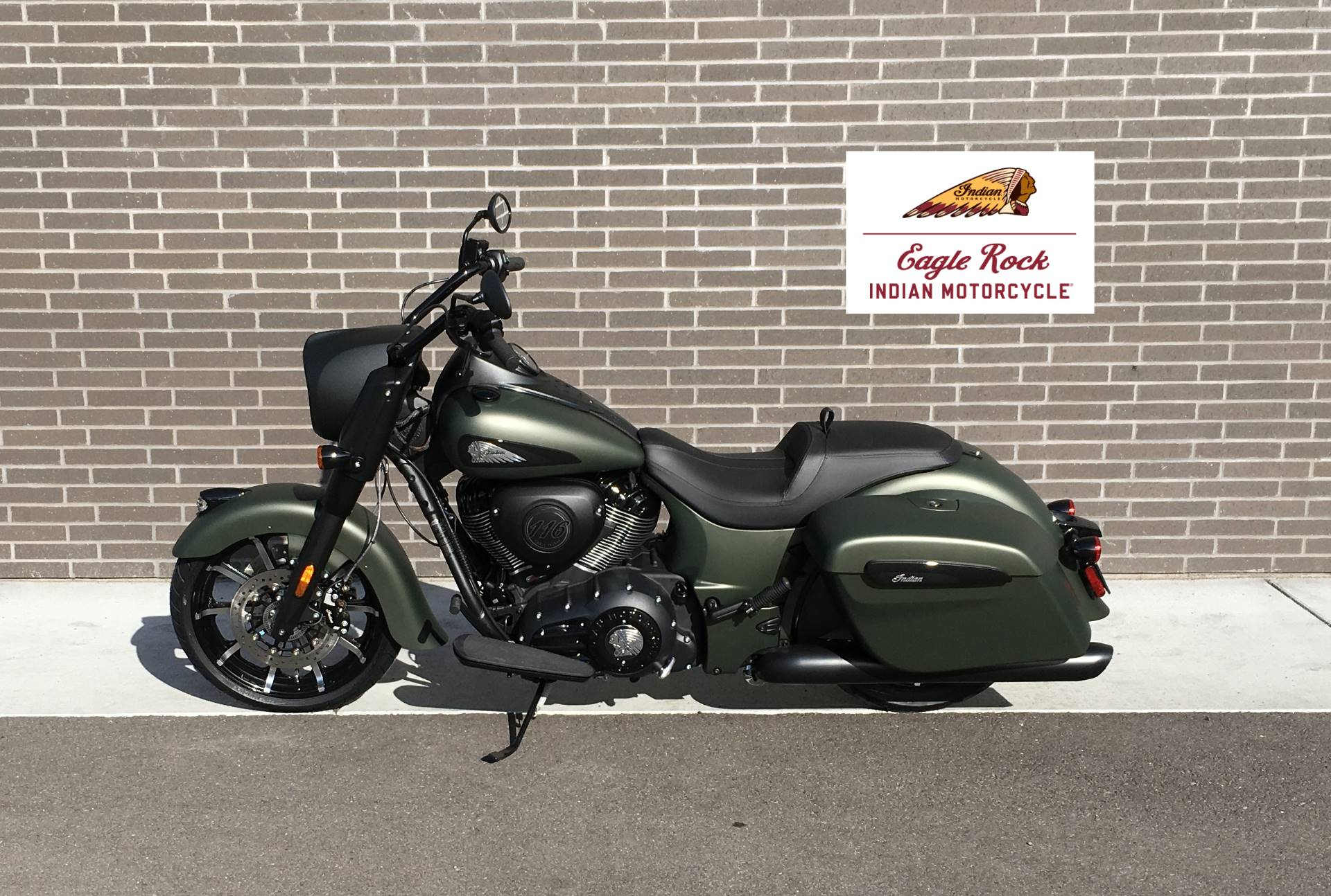 2021 Indian Springfield® Dark Horse® in Idaho Falls, Idaho - Photo 1