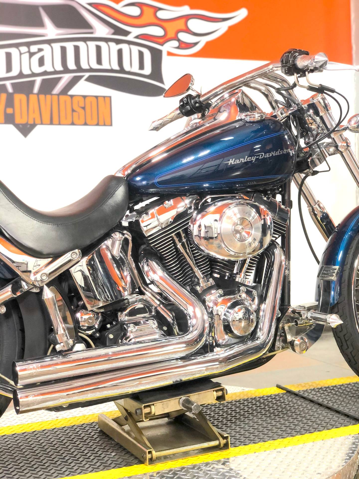 2002 Harley-Davidson FXSTD/FXSTDI Softail®  Deuce™ in Marion, Illinois - Photo 5
