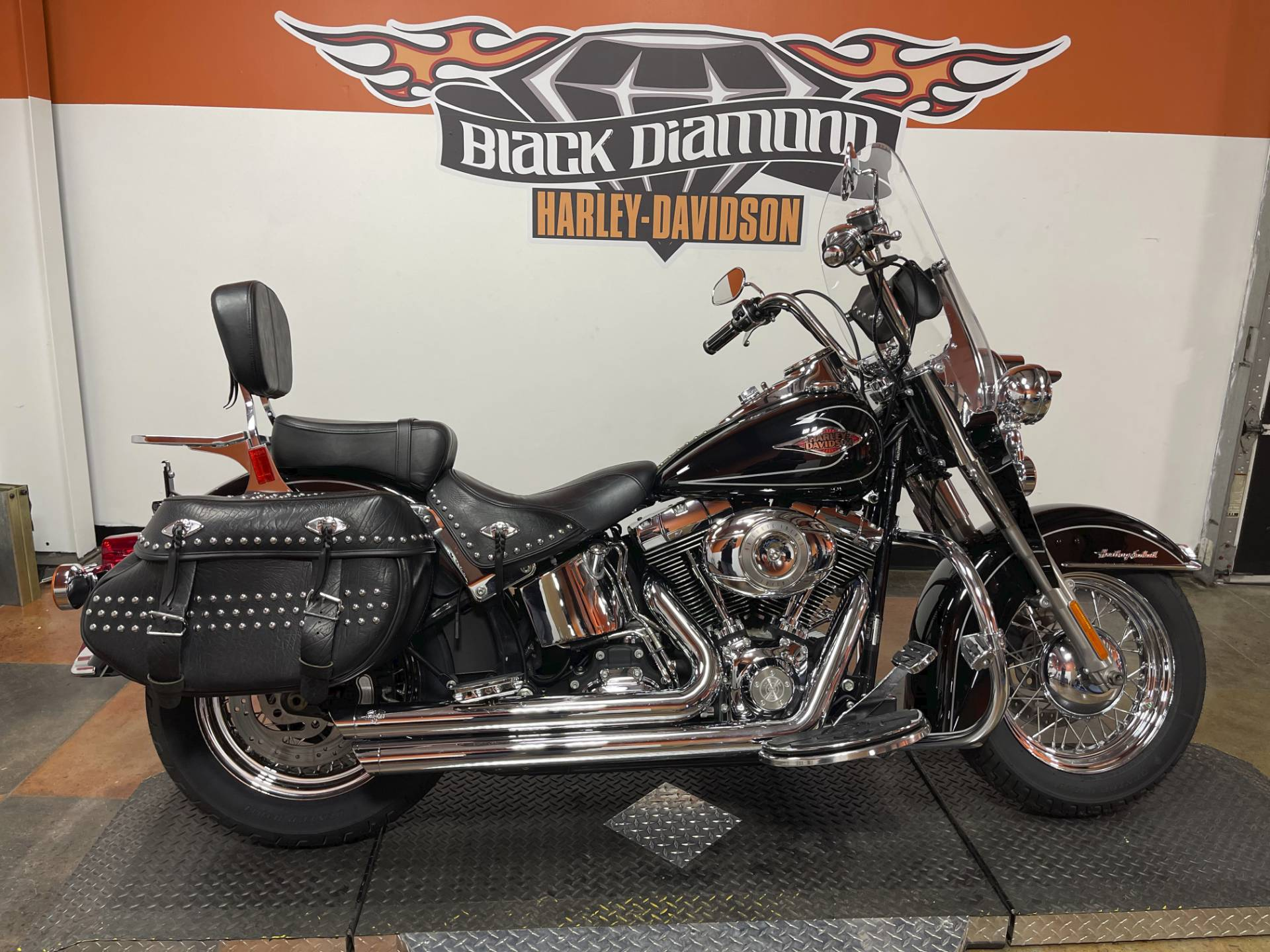2010 Harley-Davidson Heritage Softail® Classic in Marion, Illinois - Photo 1