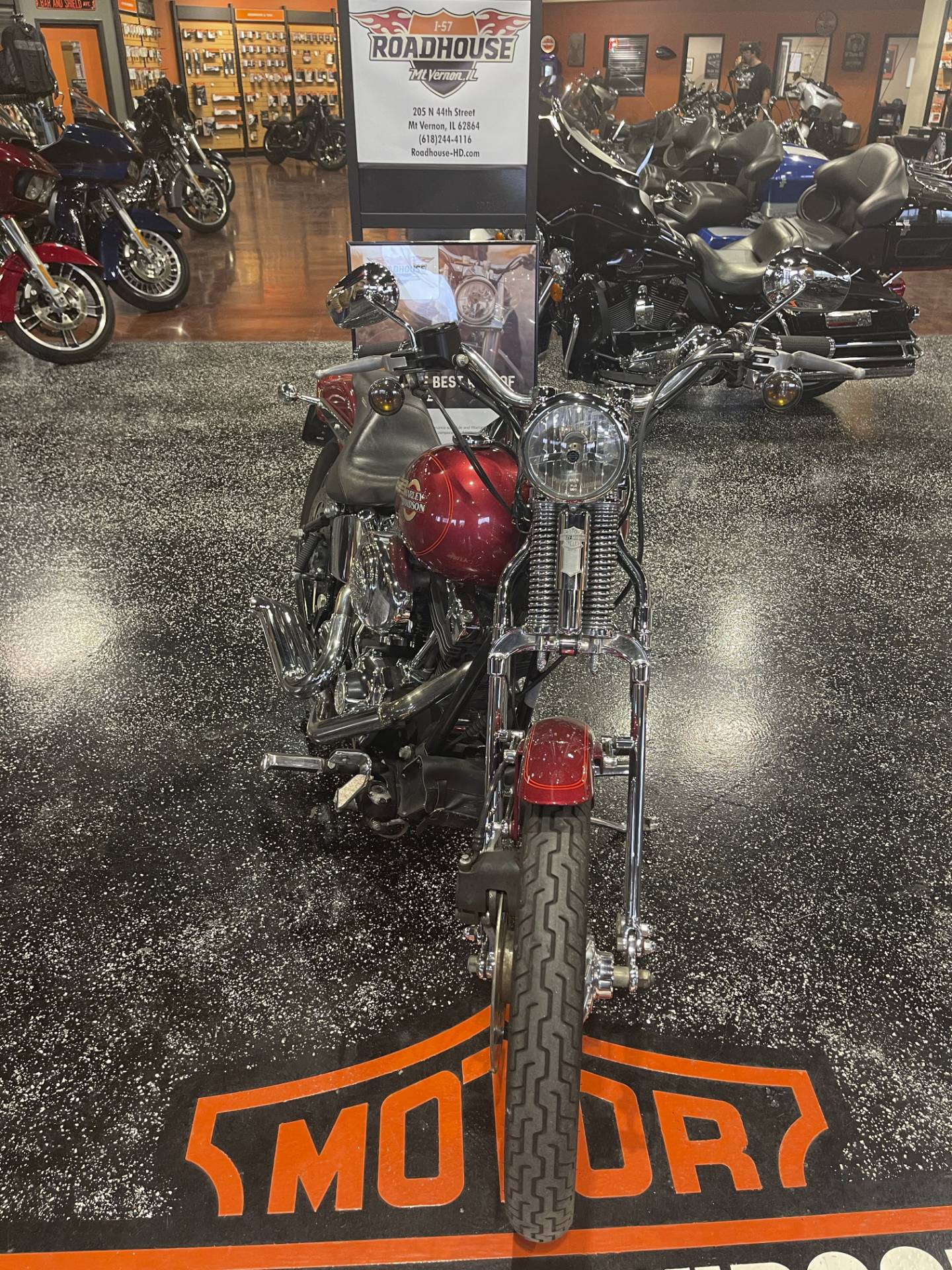 2005 Harley-Davidson FXSTS/FXSTSI Springer® Softail® in Mount Vernon, Illinois - Photo 2
