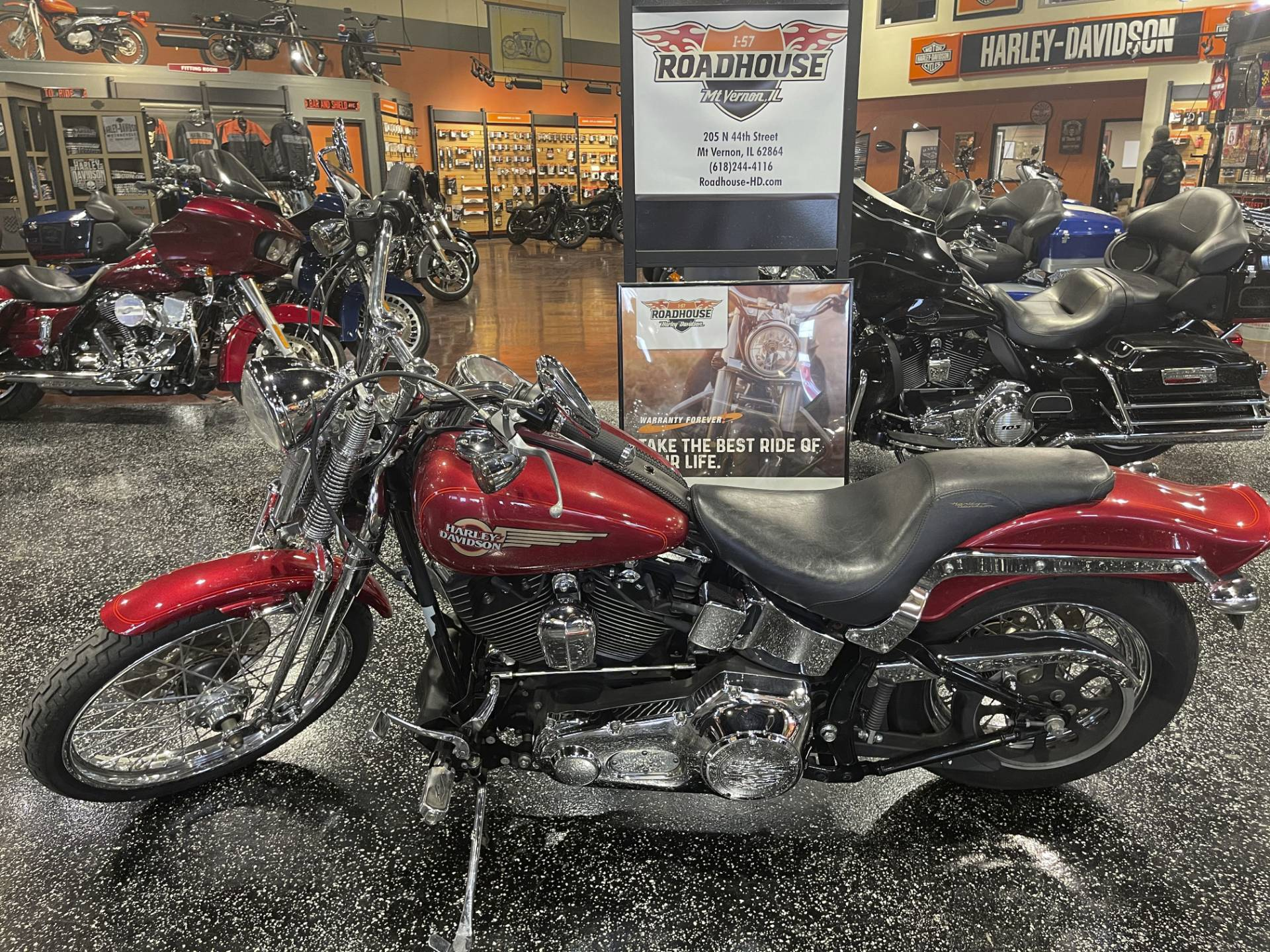 2005 Harley-Davidson FXSTS/FXSTSI Springer® Softail® in Mount Vernon, Illinois - Photo 7
