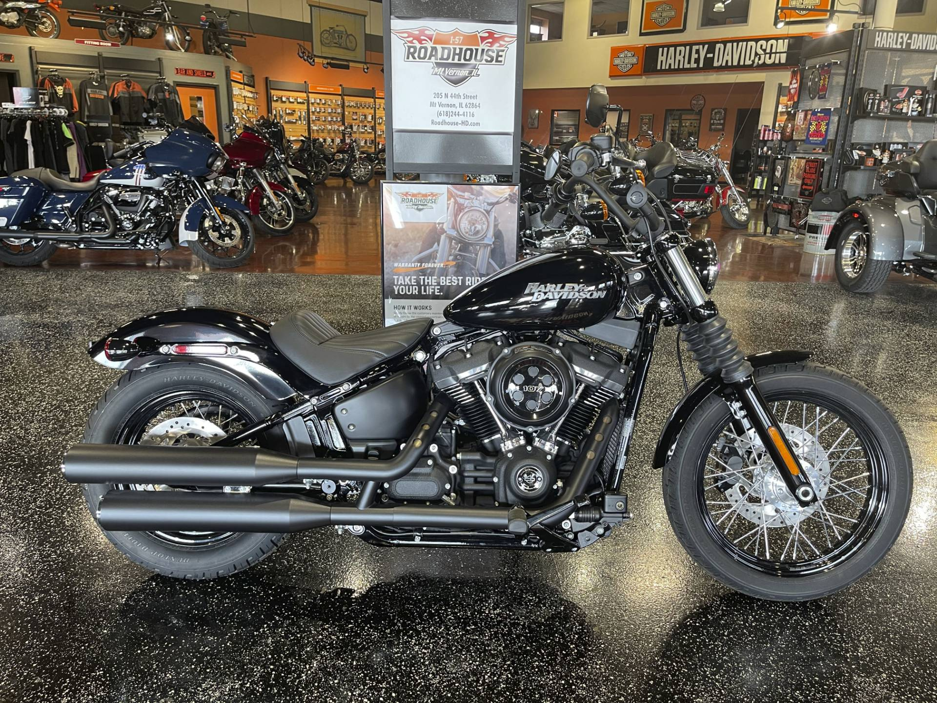 2020 Harley-Davidson Street Bob® in Mount Vernon, Illinois - Photo 1