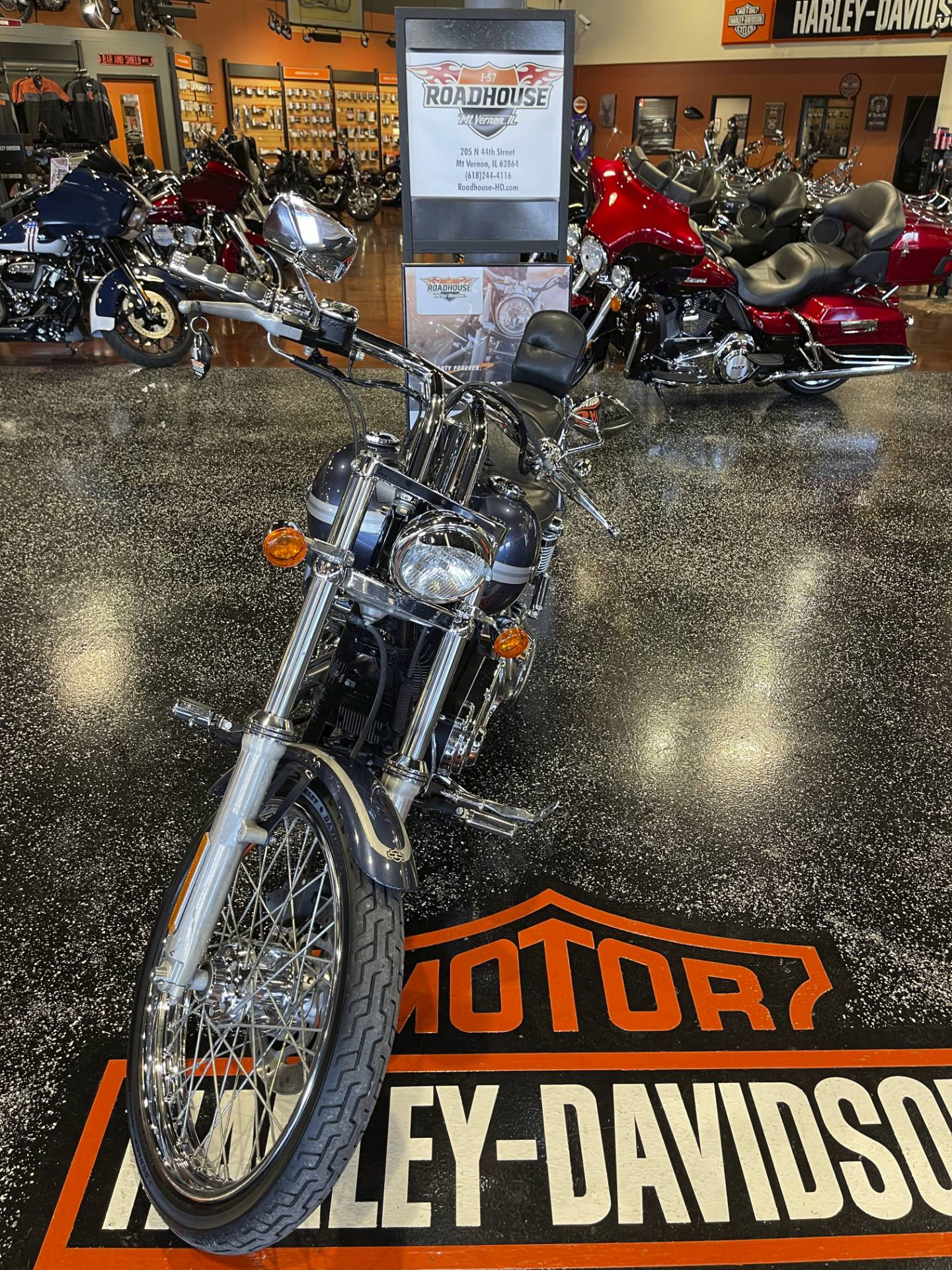 Used 2003 Harley Davidson Fxdwg Dyna Wide Glide Gunmetal Pearl Motorcycles In Marion Il U301067
