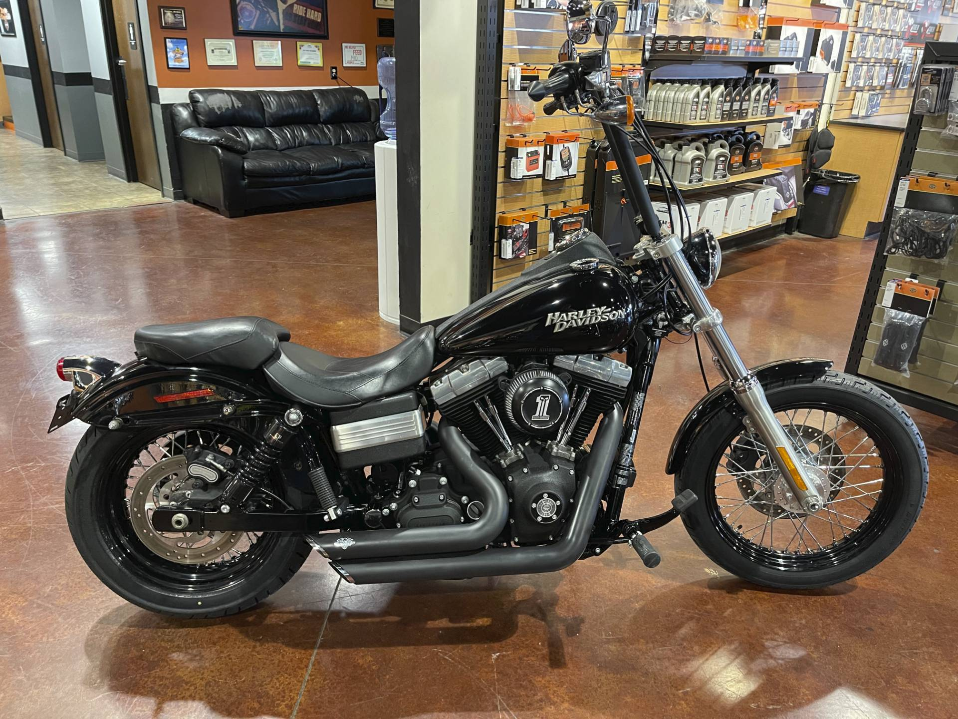 2012 Harley-Davidson Dyna® Street Bob® in Mount Vernon, Illinois - Photo 1