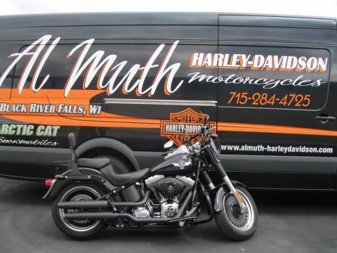 2011 Harley-Davidson Softail® Fat Boy® Lo in Black River Falls, Wisconsin