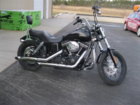 2014 Harley-Davidson Dyna® Street Bob® in Black River Falls, Wisconsin