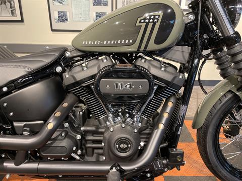 2021 Harley-Davidson Street Bob® 114 in Baldwin Park, California - Photo 3