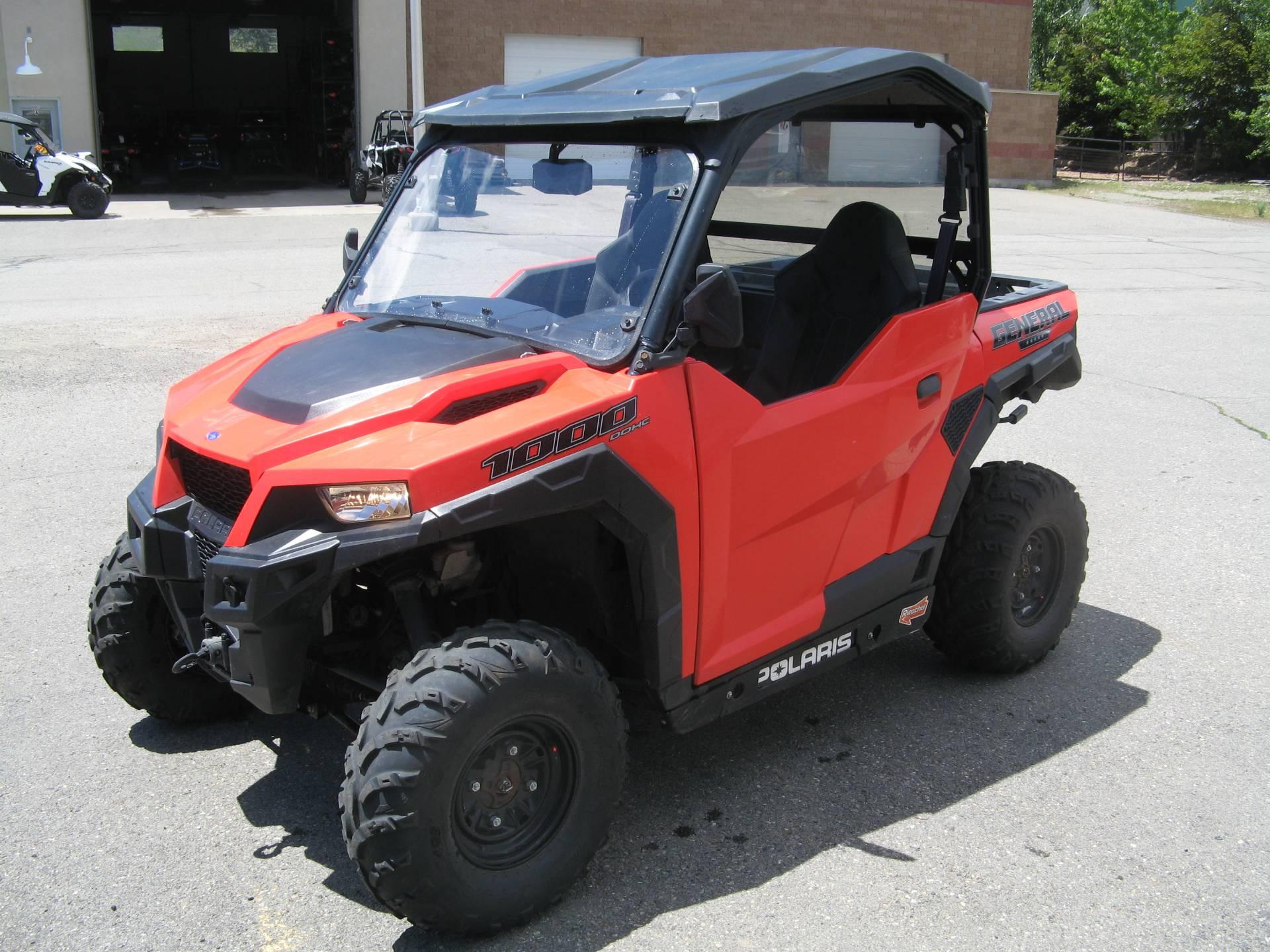 Polaris General 1000 >> 2016 Polaris General 1000 Eps Utility Vehicles Hailey Idaho N A