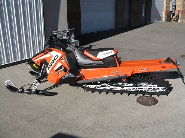 2019 Polaris 800 PRO-RMK 163 Snowcheck Select in Hailey, Idaho - Photo 2