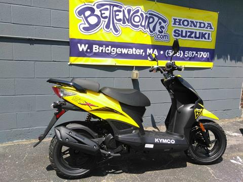 2017 Kymco Super 8 50X in West Bridgewater, Massachusetts