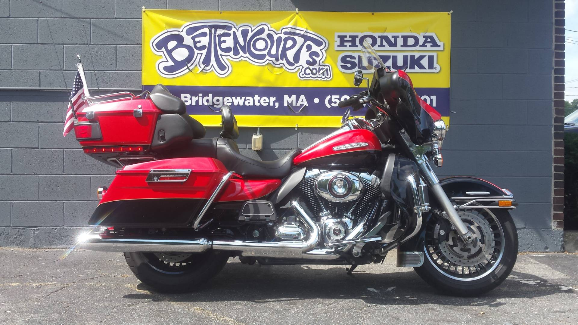 2010 Harley-Davidson Electra Glide® Ultra Limited in West Bridgewater, Massachusetts