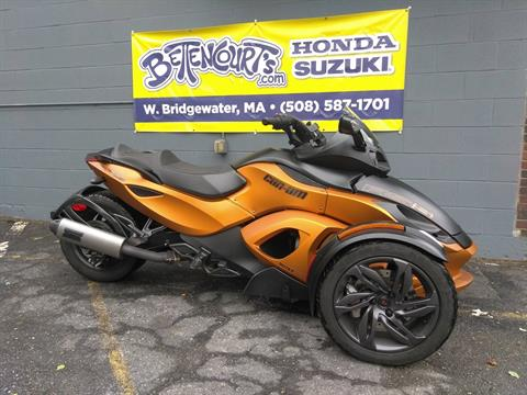 2013 Can-Am Spyder® RS-S SE5 in West Bridgewater, Massachusetts