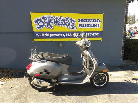 2012 Vespa GTS 300 Super in West Bridgewater, Massachusetts
