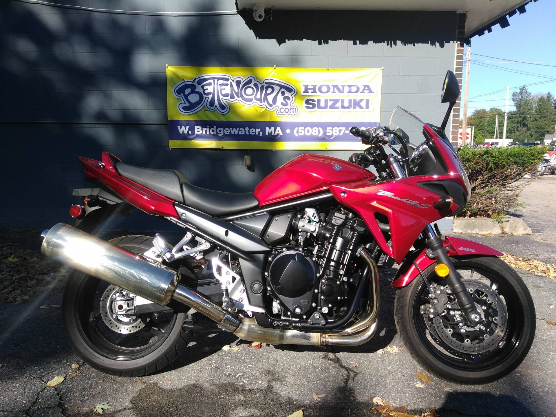 2016 Suzuki Bandit 1250S ABS in West Bridgewater, Massachusetts