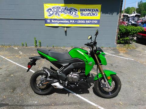 2017 Kawasaki Z125 Pro in West Bridgewater, Massachusetts - Photo 1
