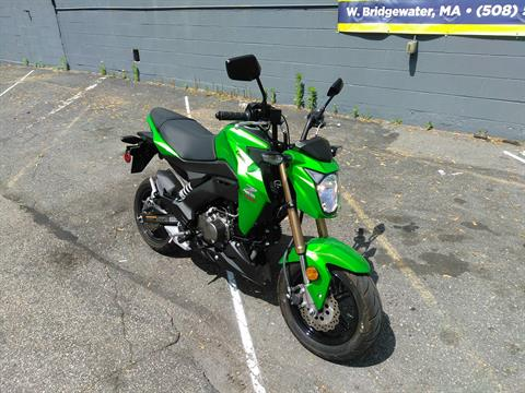 2017 Kawasaki Z125 Pro in West Bridgewater, Massachusetts - Photo 2