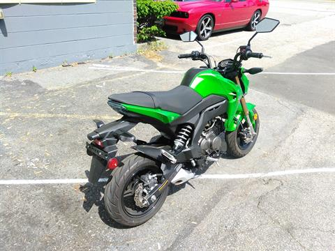 2017 Kawasaki Z125 Pro in West Bridgewater, Massachusetts - Photo 6