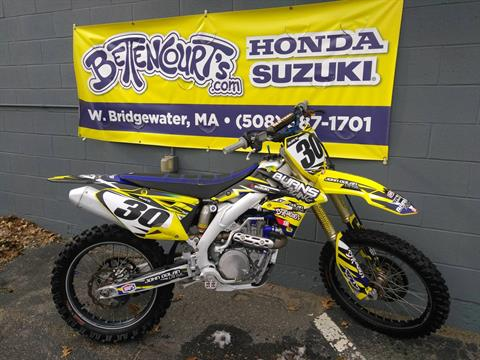 2015 Suzuki RM-Z450 in West Bridgewater, Massachusetts