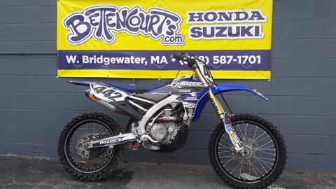 2015 Yamaha YZ450F in West Bridgewater, Massachusetts