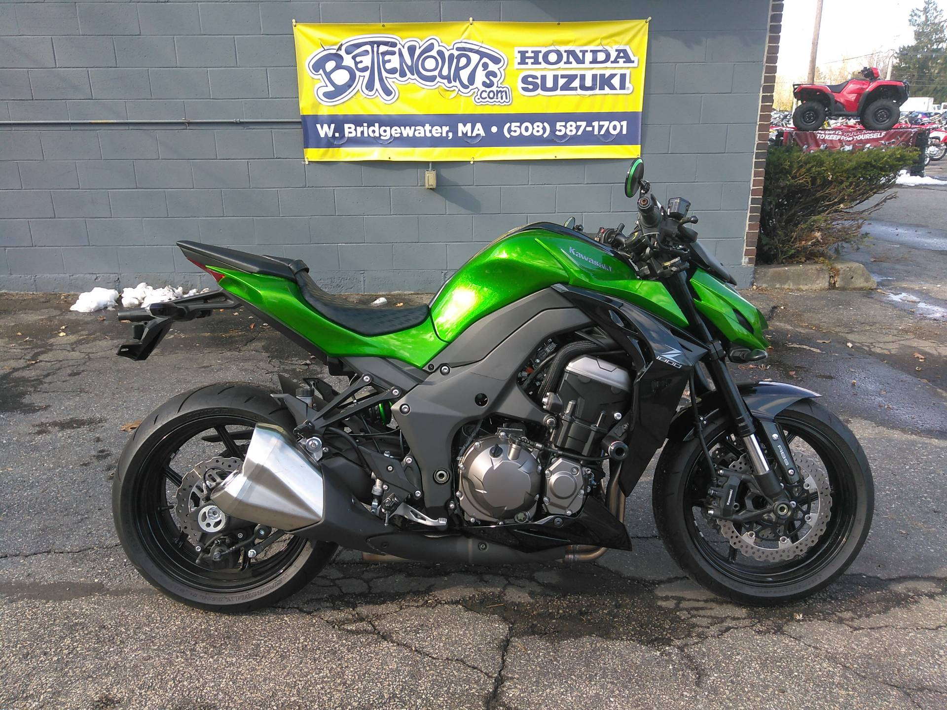 Used 2015 Kawasaki Z1000 Abs Motorcycles In West Bridgewater Ma
