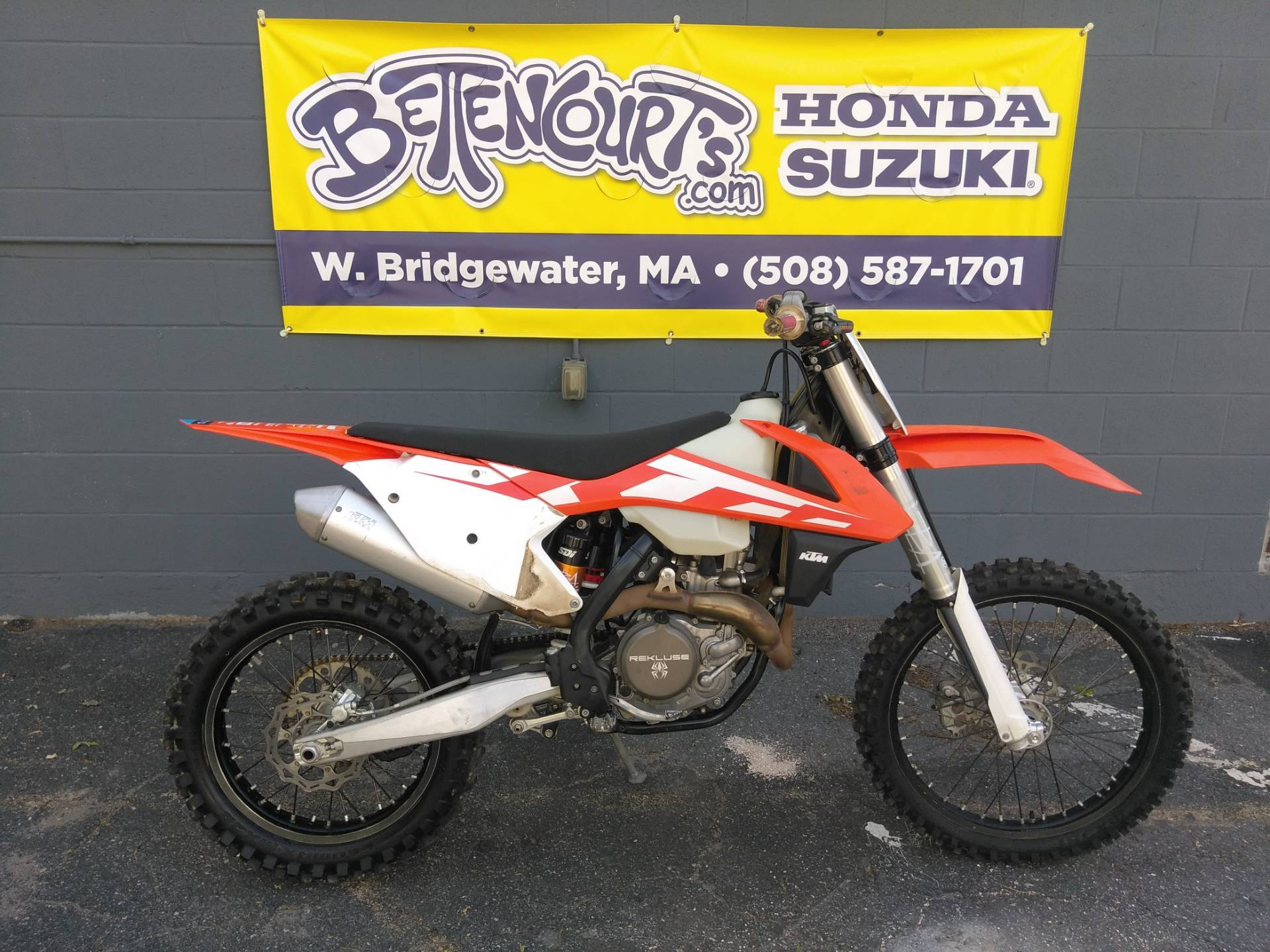 2016 KTM 450 XC-F in West Bridgewater, Massachusetts