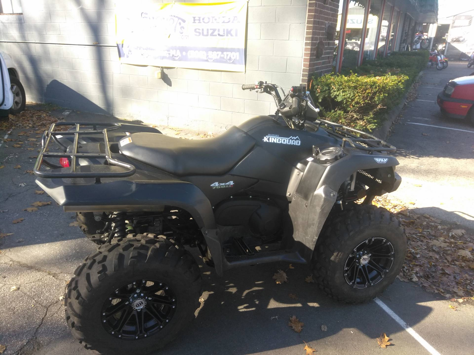 2018 Suzuki KingQuad 750AXi Power Steering Special Edition in West Bridgewater, Massachusetts - Photo 1