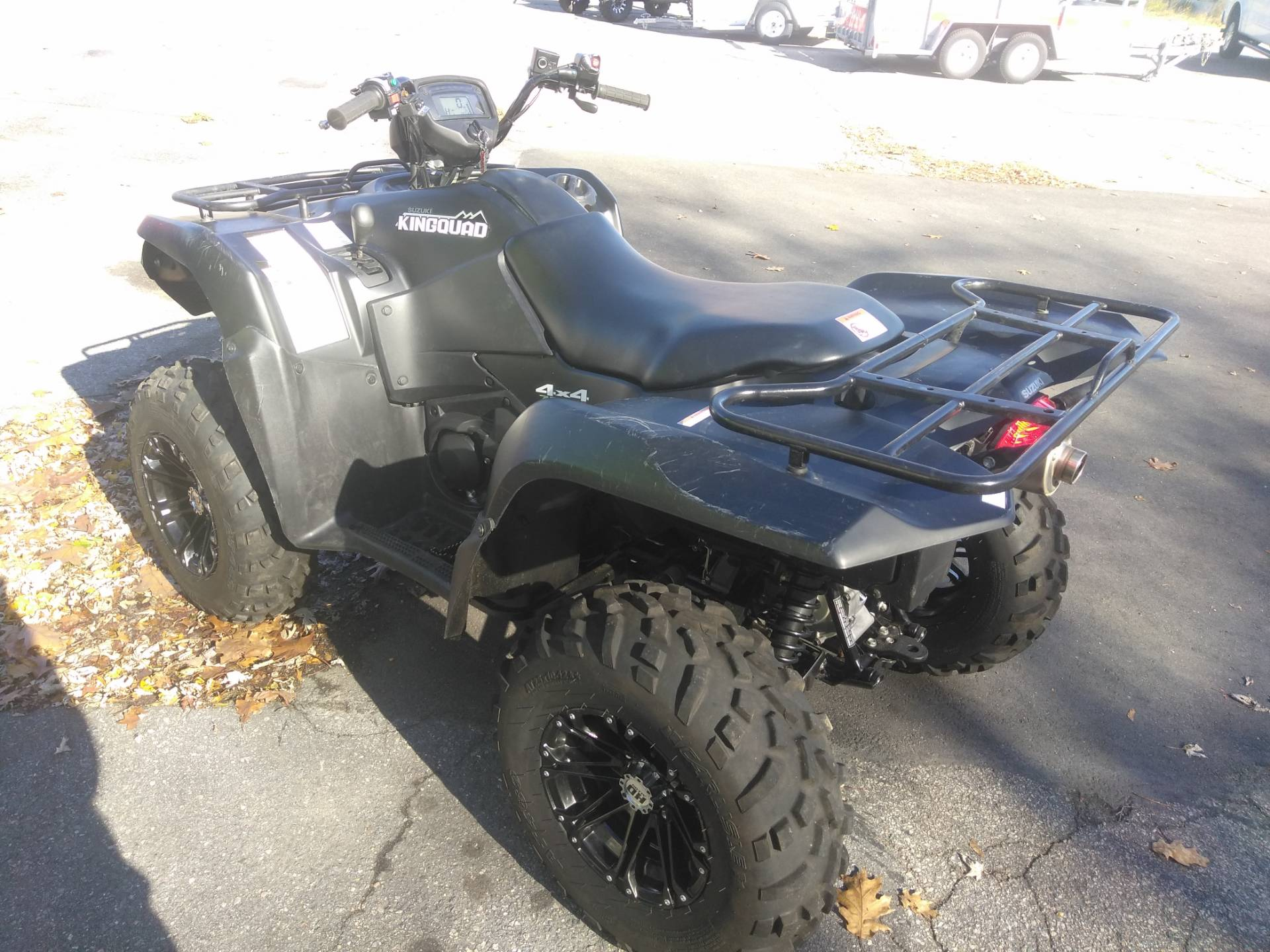 2018 Suzuki KingQuad 750AXi Power Steering Special Edition in West Bridgewater, Massachusetts - Photo 3