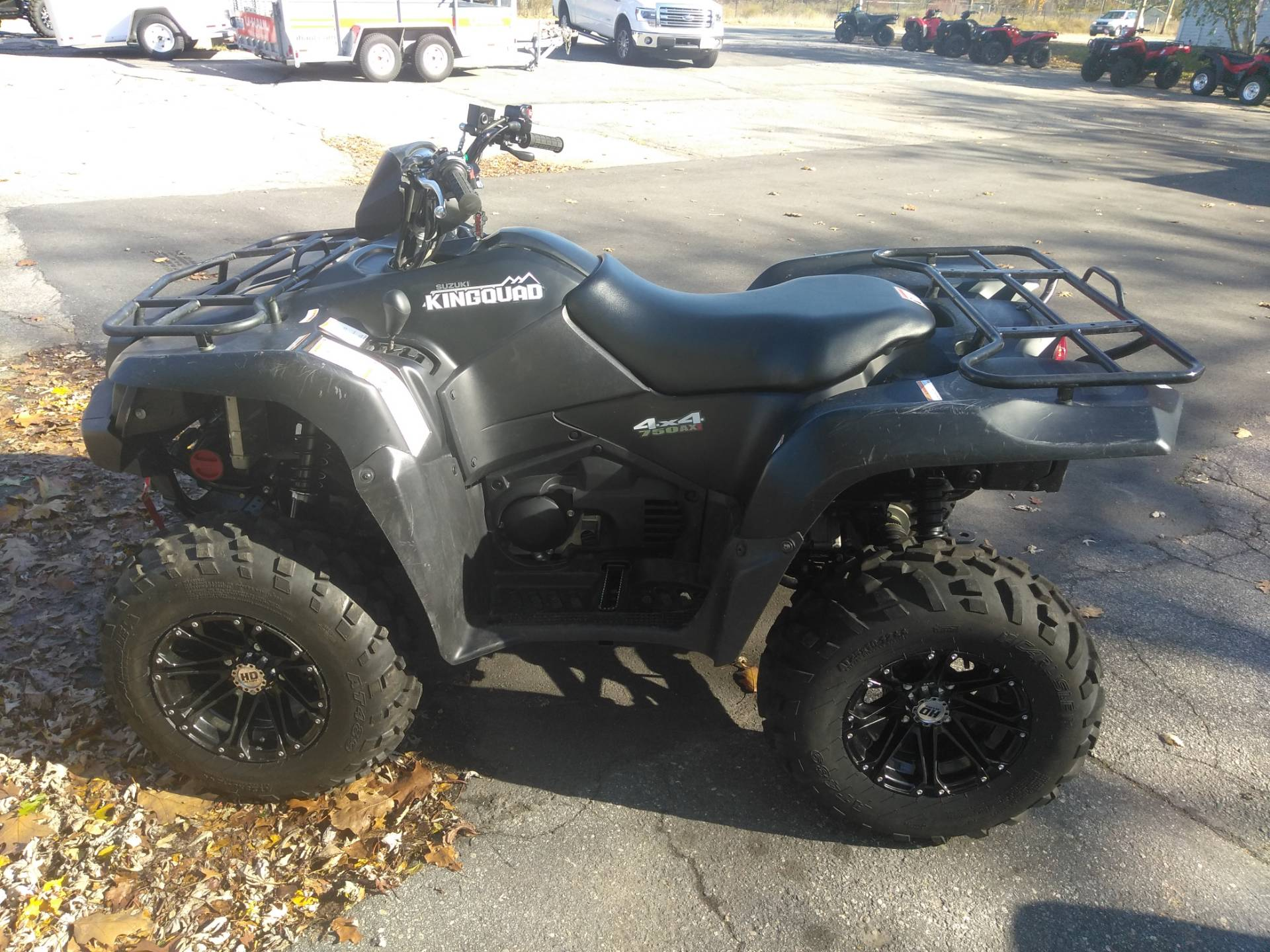 2018 Suzuki KingQuad 750AXi Power Steering Special Edition in West Bridgewater, Massachusetts - Photo 4