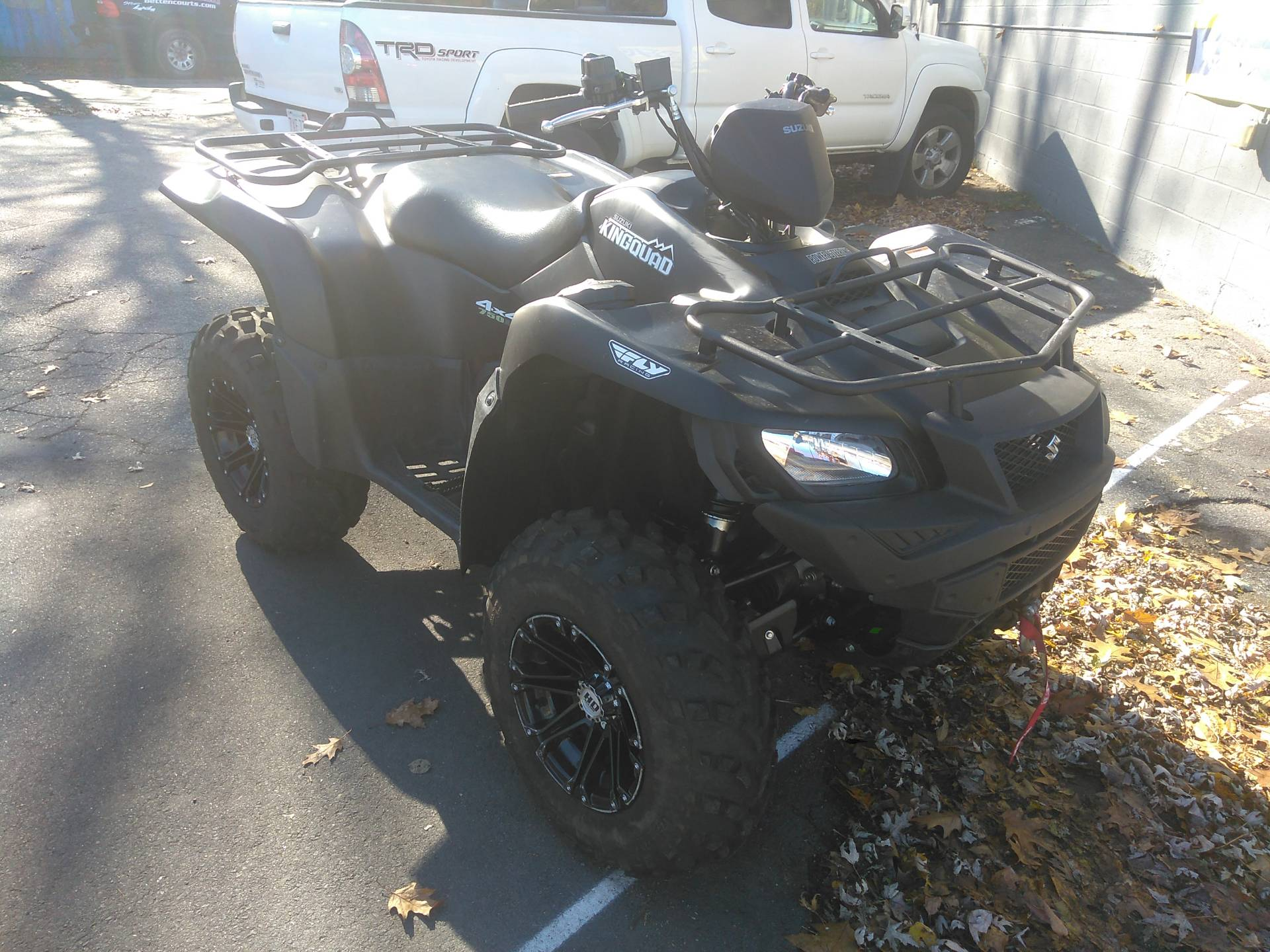 2018 Suzuki KingQuad 750AXi Power Steering Special Edition in West Bridgewater, Massachusetts - Photo 6