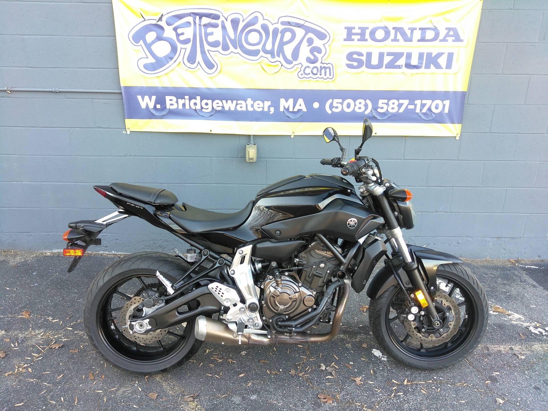 2016 Yamaha FZ-07 for sale 33759