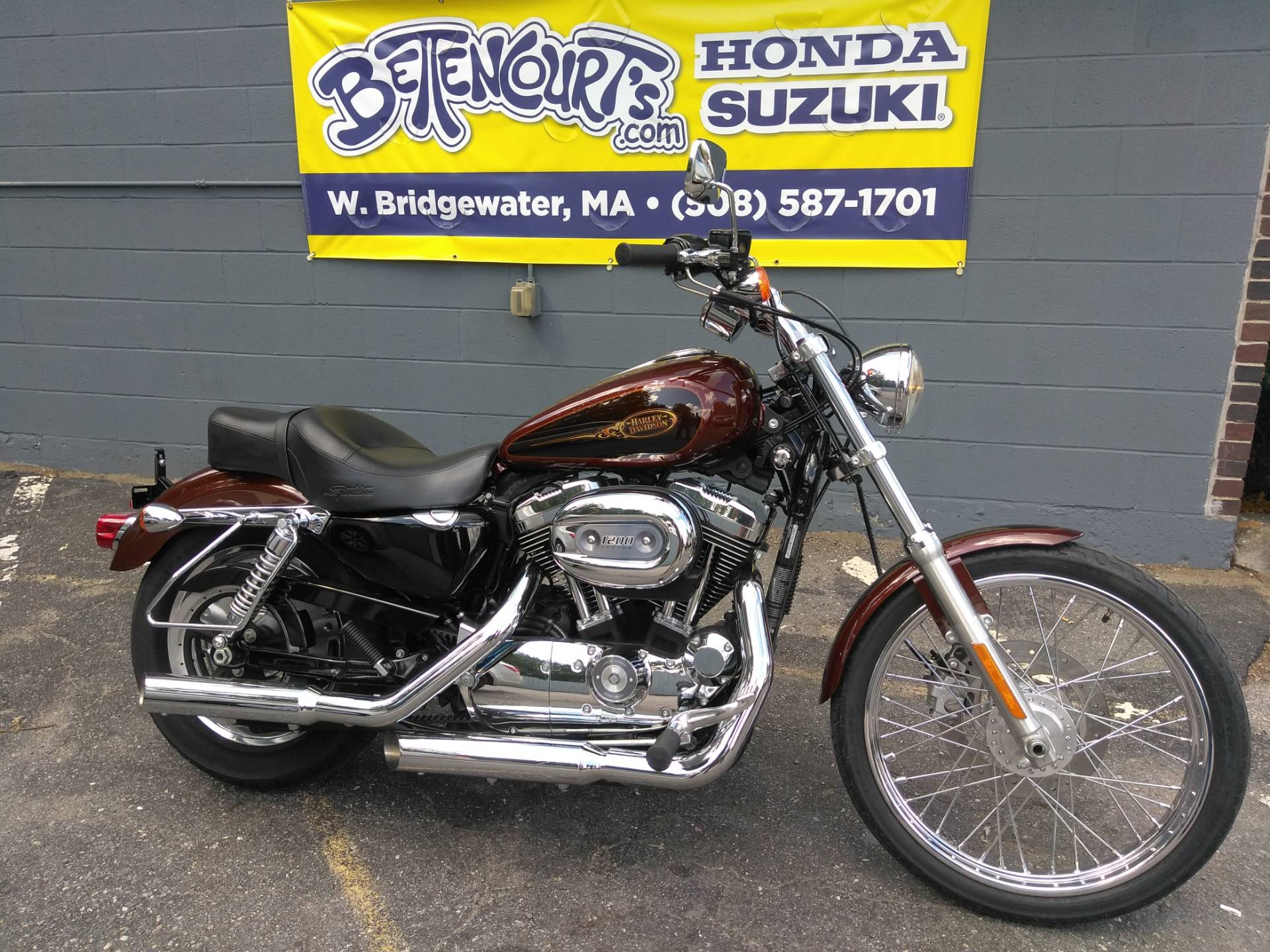 2009 Harley-Davidson Sportster® 1200 Custom in West Bridgewater, Massachusetts