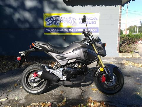 2018 Honda Grom ABS in West Bridgewater, Massachusetts