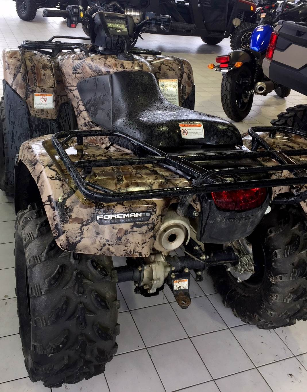 2013 FourTrax Foreman 4x4 ES with EPS