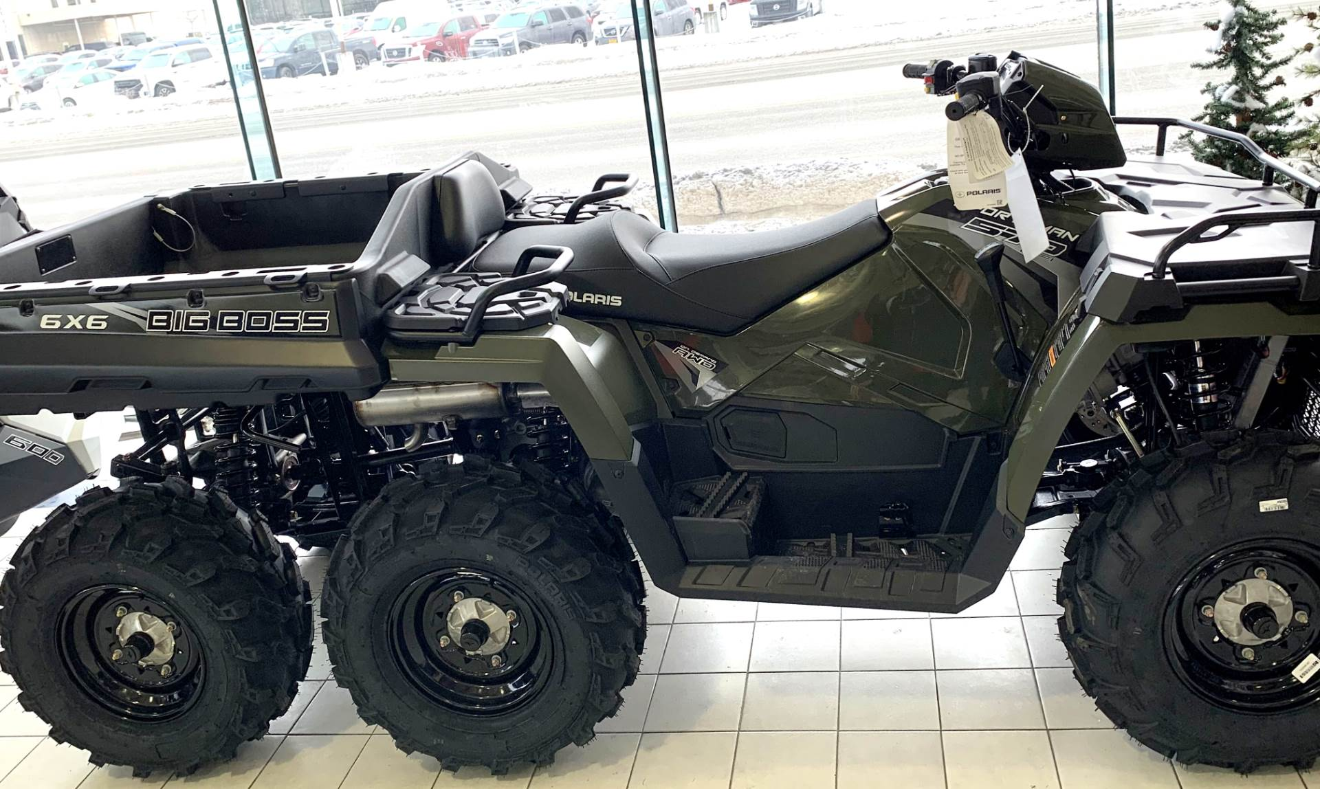 2019 Polaris Sportsman 6x6 570 in Anchorage, Alaska - Photo 2