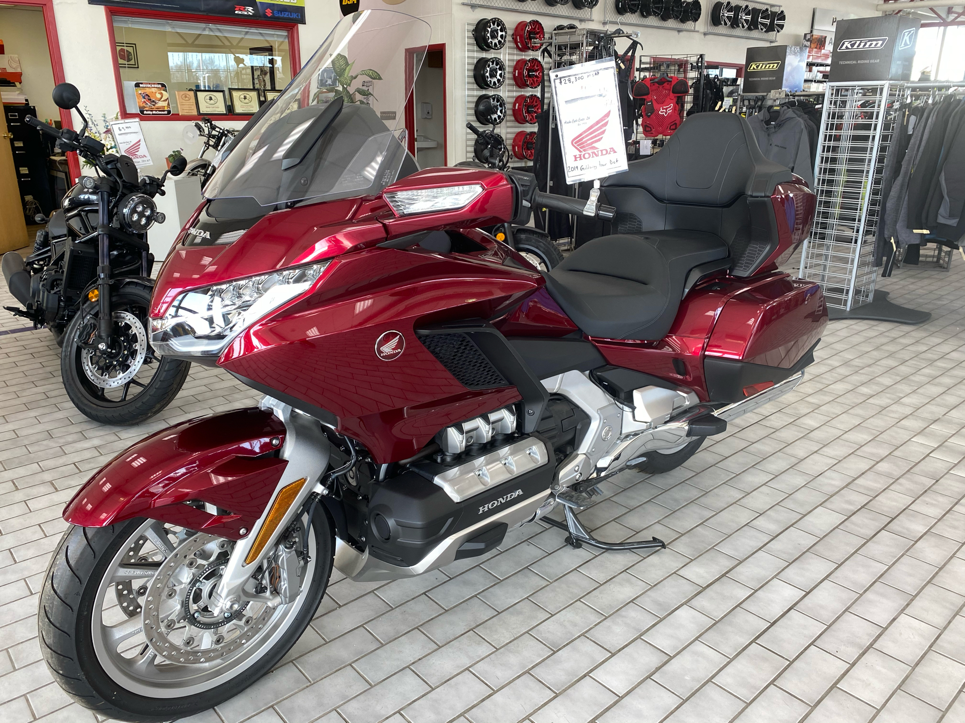 2019 Honda Gold Wing Tour Automatic DCT in Anchorage, Alaska - Photo 4