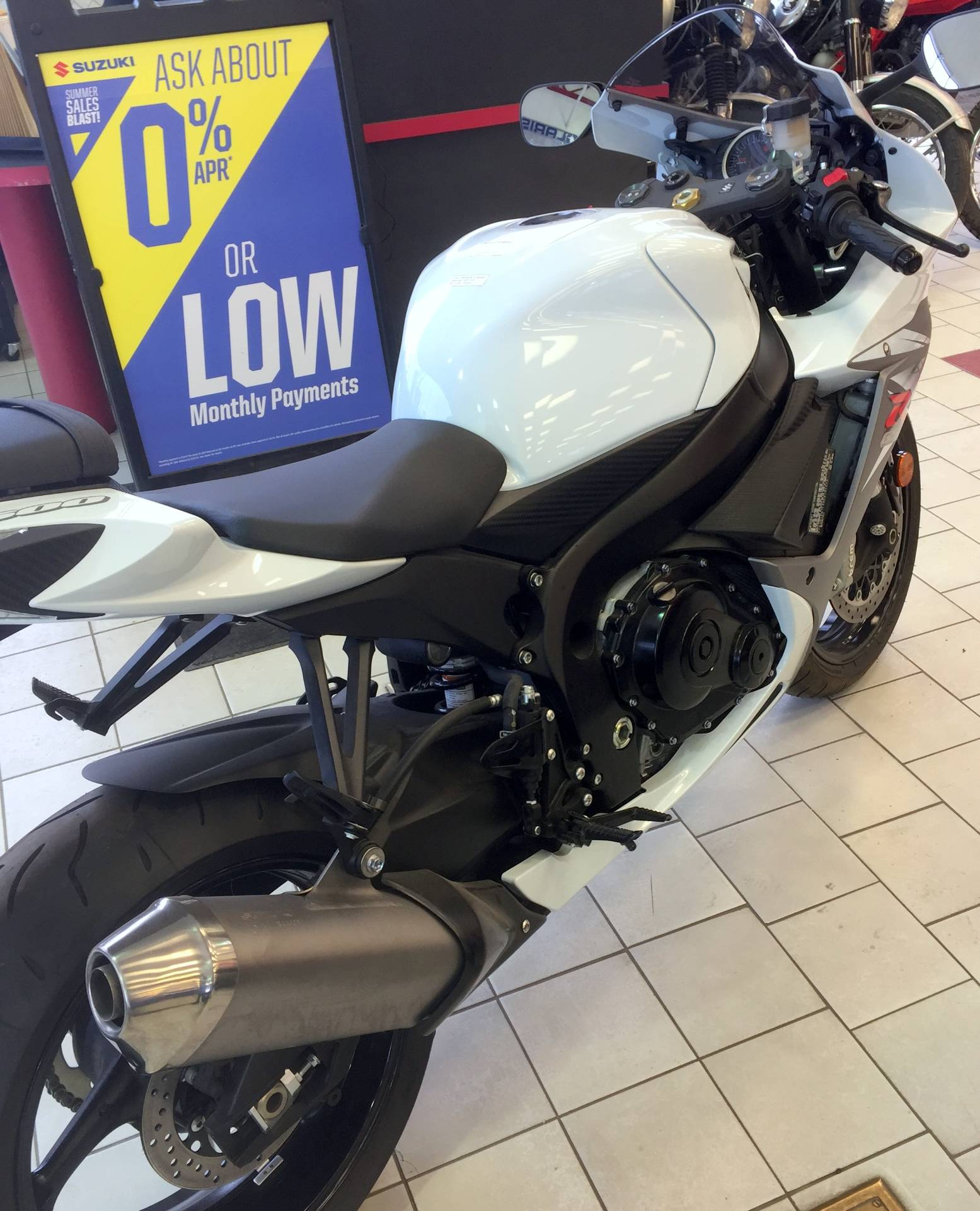 2015 Suzuki GSX-R600 in Anchorage, Alaska