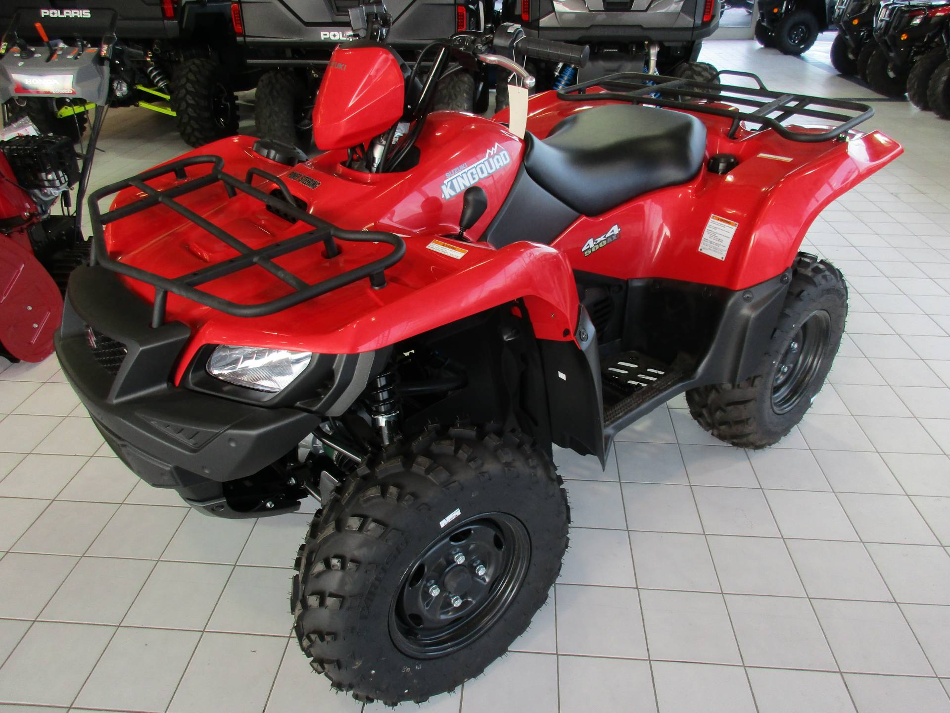 2018 Suzuki KingQuad 500AXi Power Steering in Anchorage, Alaska - Photo 1