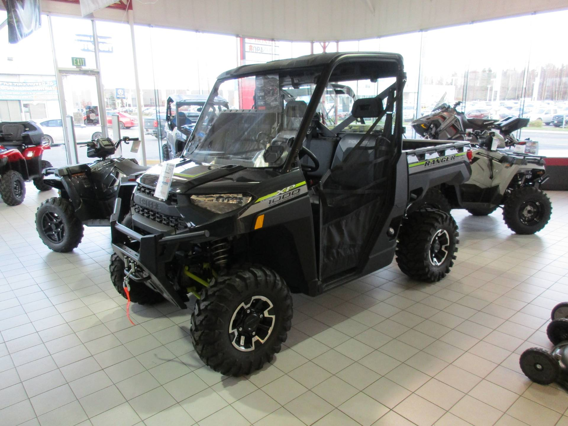2019 Polaris Ranger XP 1000 EPS Premium in Anchorage, Alaska - Photo 1