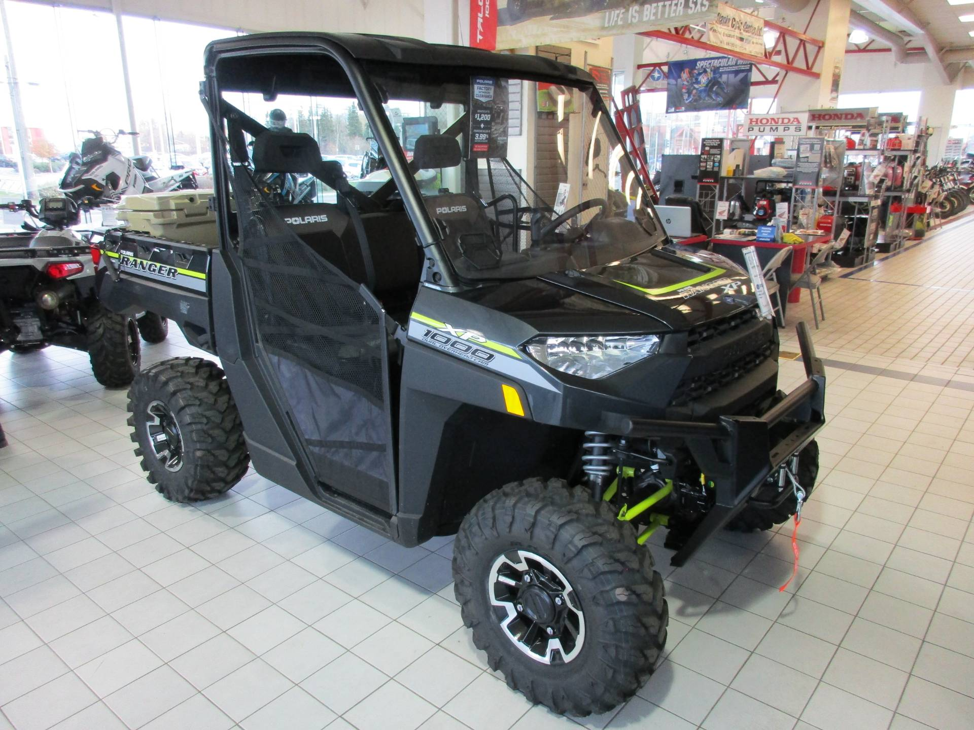 2019 Polaris Ranger XP 1000 EPS Premium in Anchorage, Alaska - Photo 2