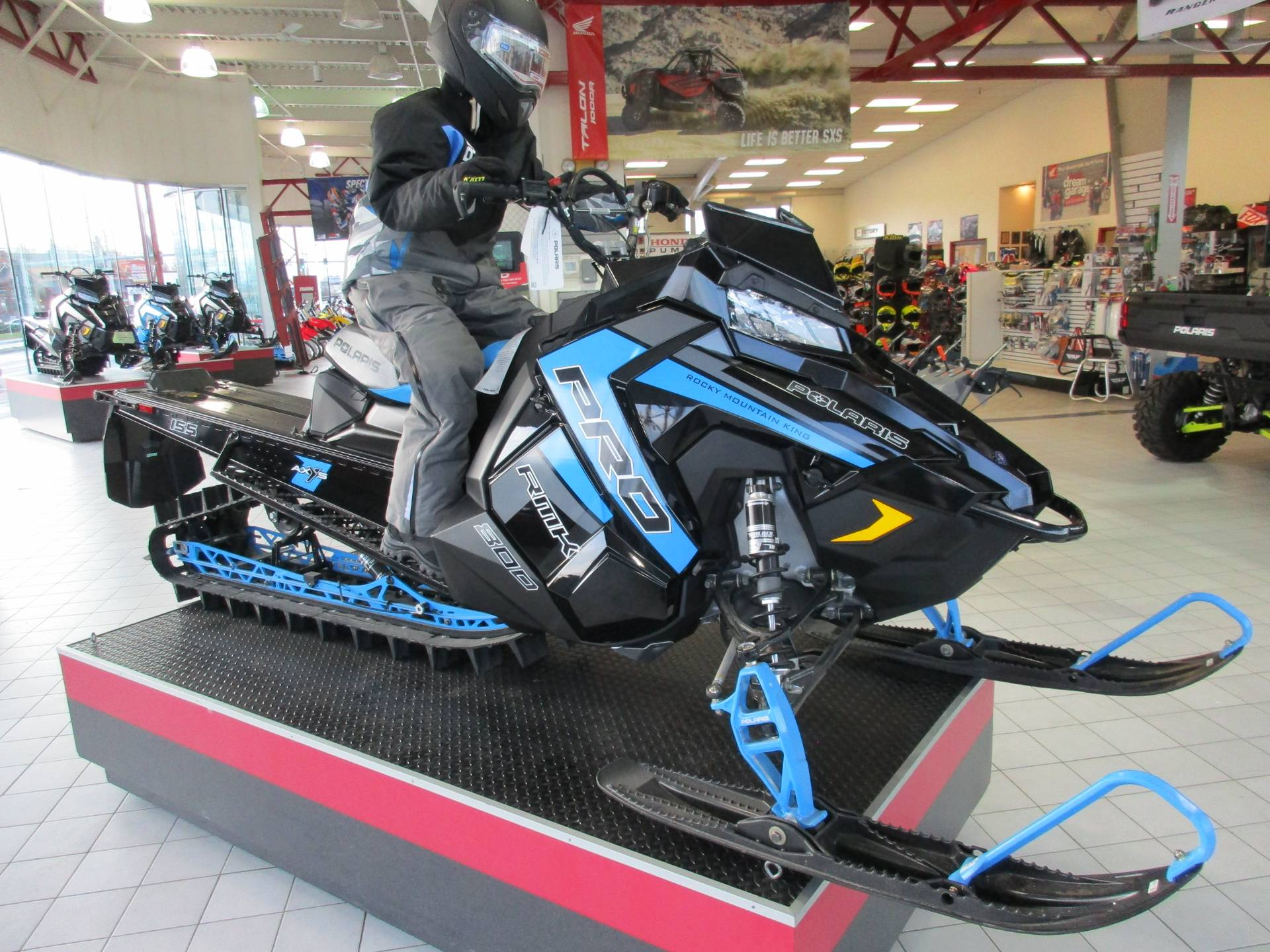 2019 Polaris 800 PRO-RMK 155 SnowCheck Select 3.0 in Anchorage, Alaska - Photo 1